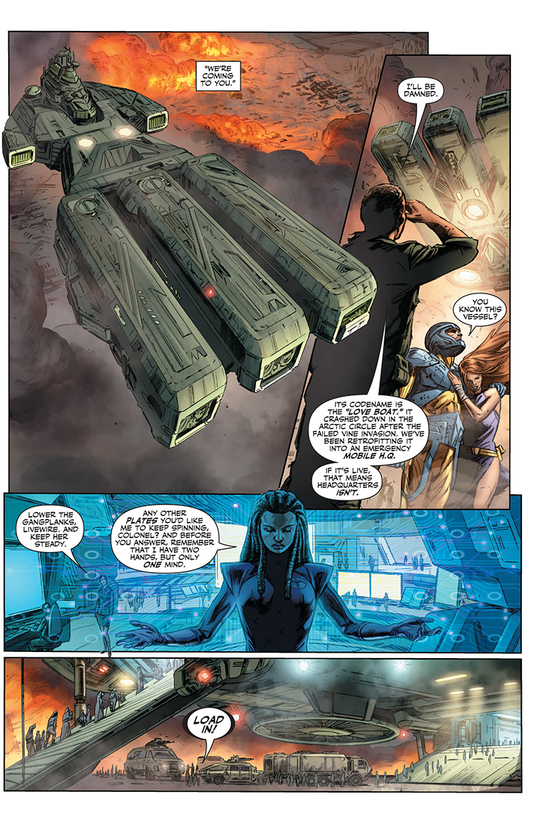 Pullbox Previews: Valiant Next Week! Archer & Armstrong #23