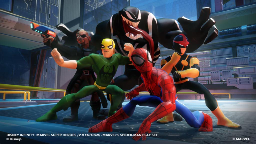 GroupShot_Spider-Man-XL