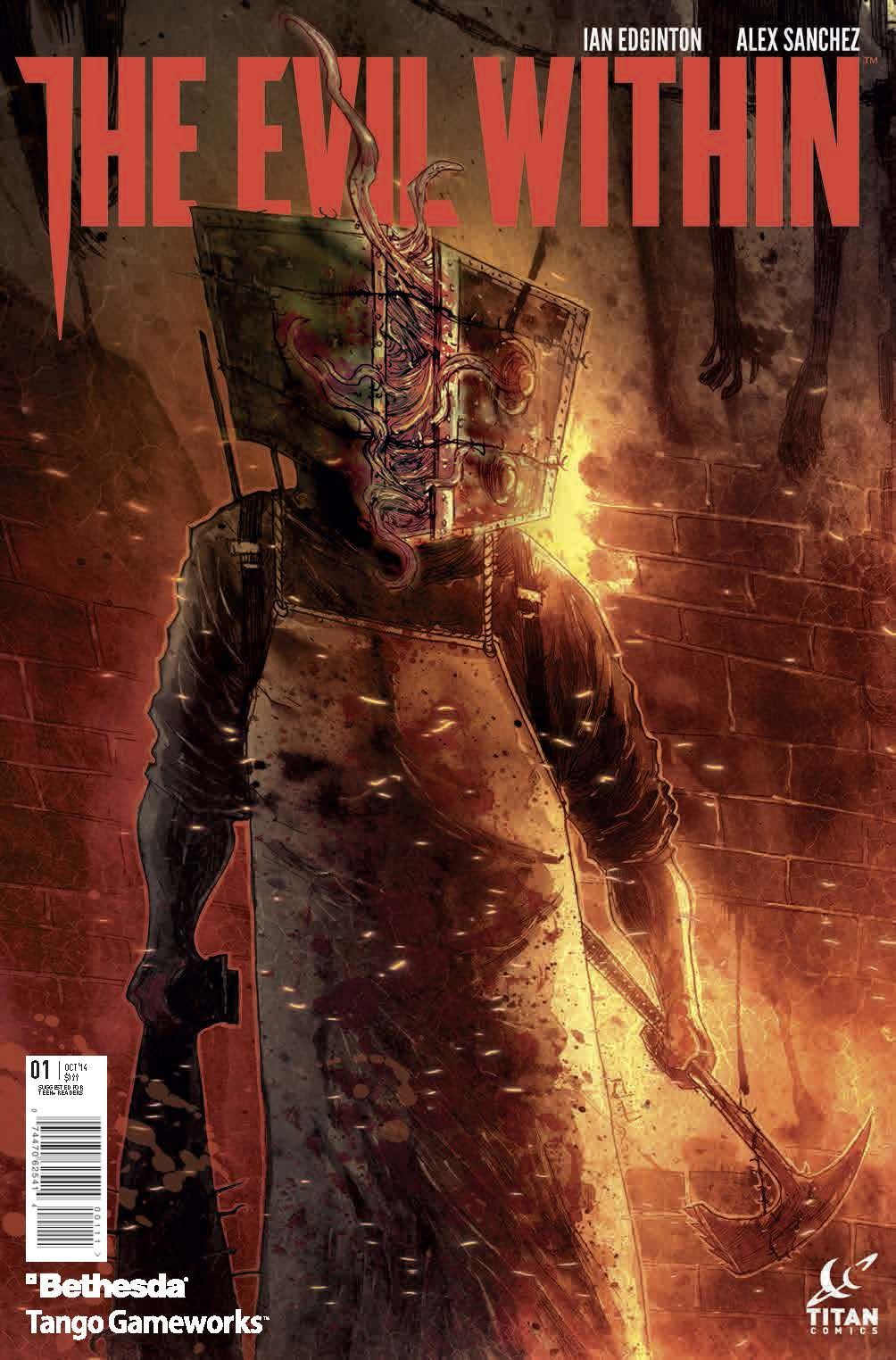 EVIL WITHIN #1 COVER (Ben Templesmith)