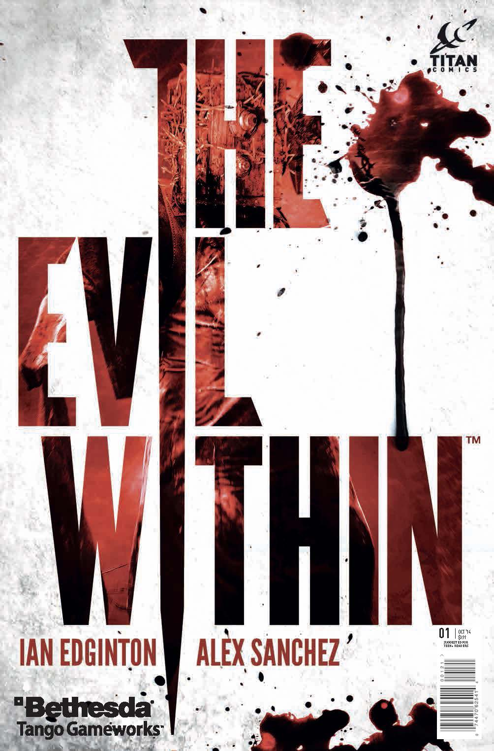 EVIL WITHIN #1 COVER