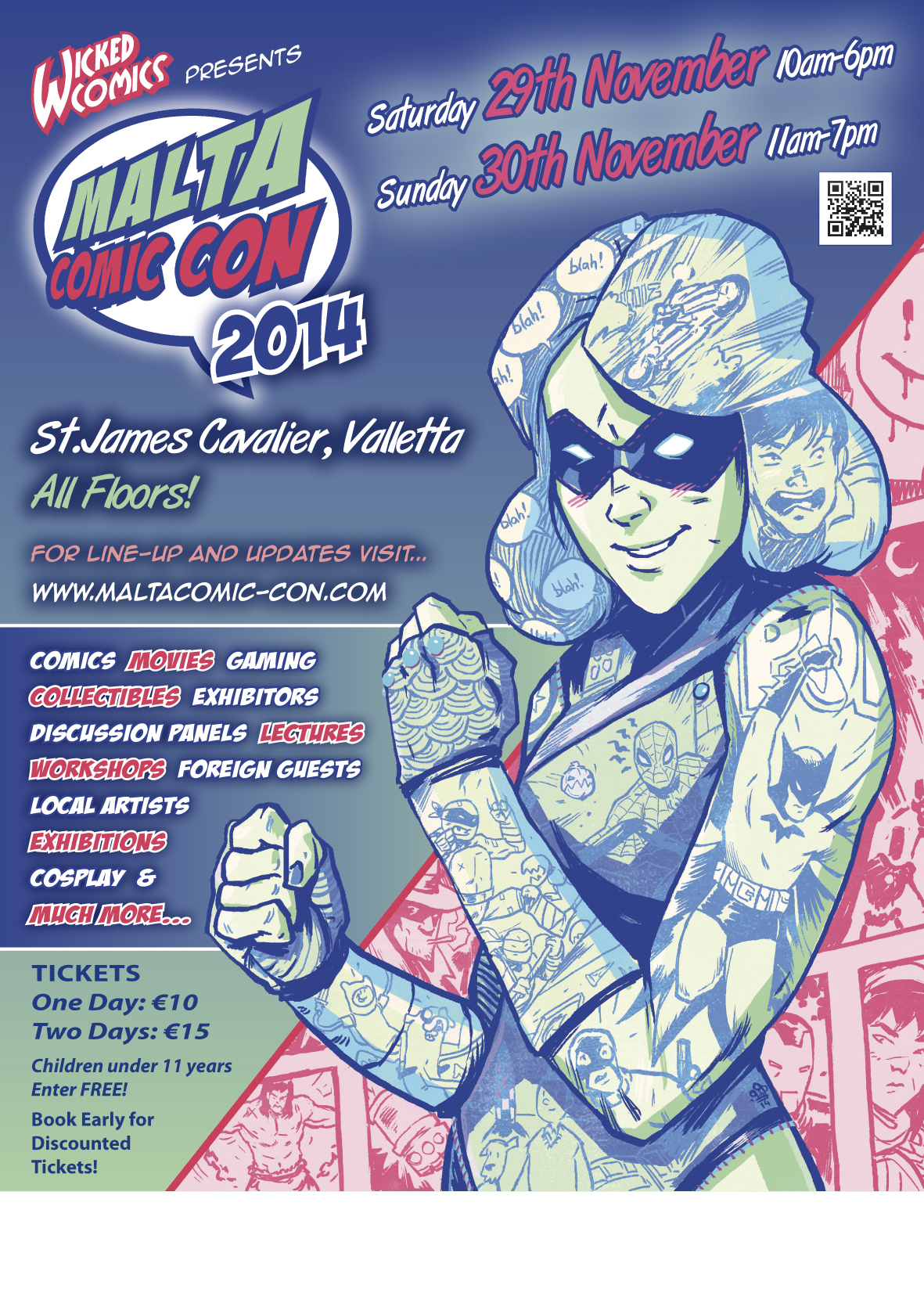 Official MCC 2014 Poster