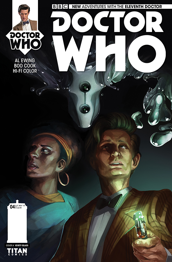 The Eleventh Doctor #4 cover