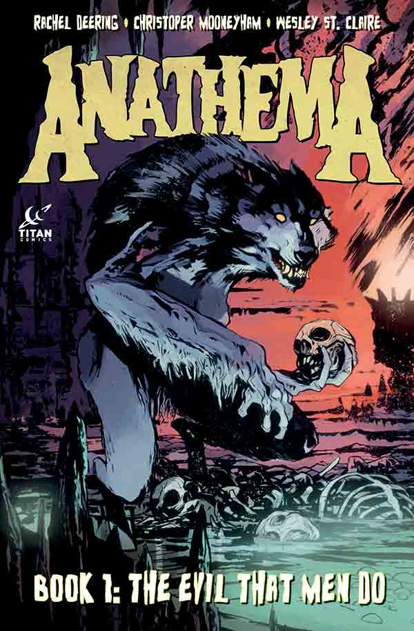 Anathema Book 1 cover