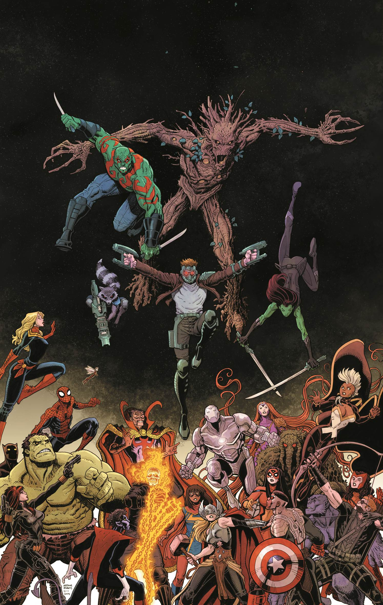 Guardians Team-Up #1 Cover