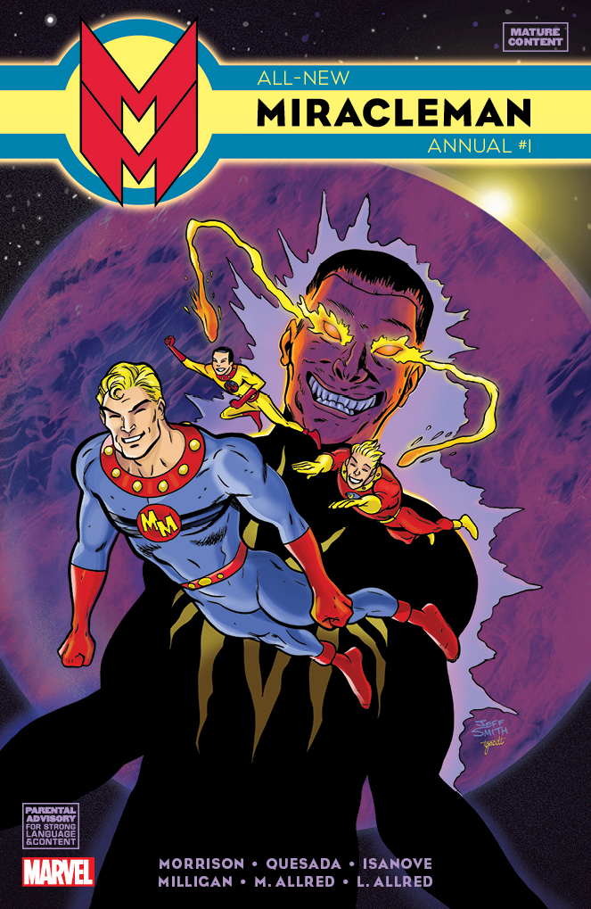 All_New_Miracleman_Annual_Smith_Variant