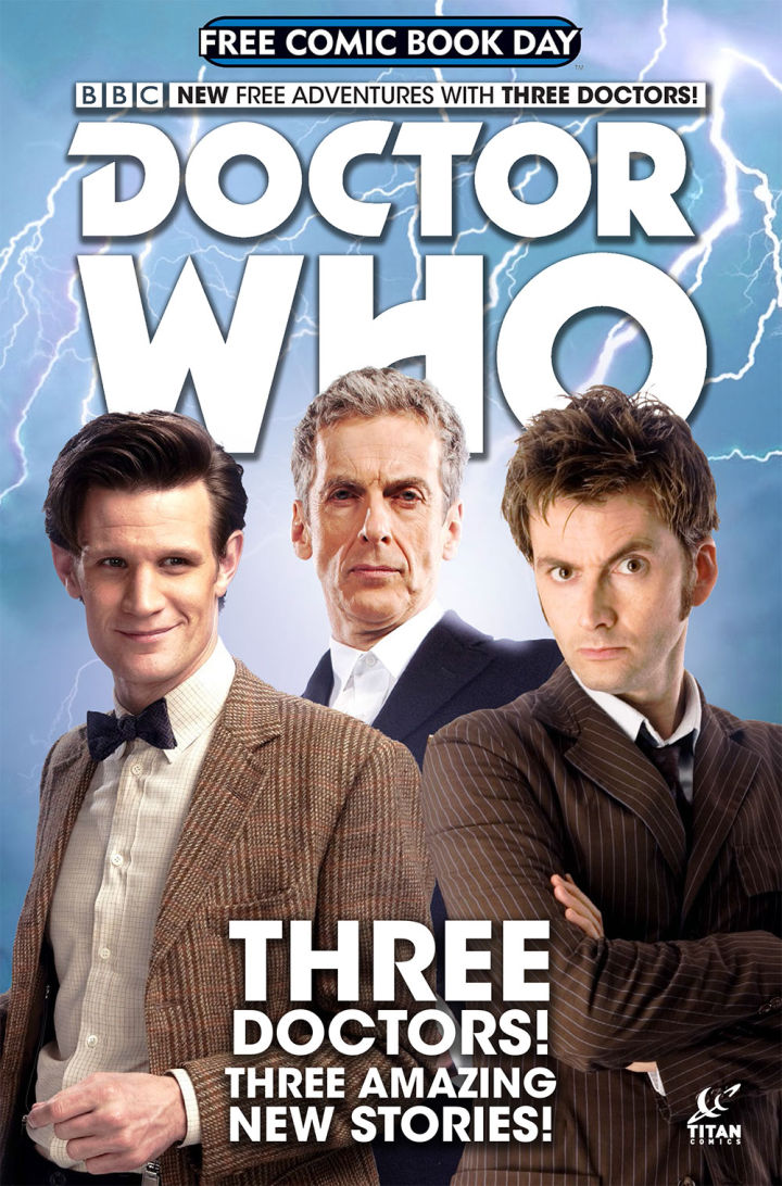 DOCTOR WHO FREE COMIC BOOK DAY SPECIAL