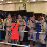 Ghostbusters hitting on a Trek girl.