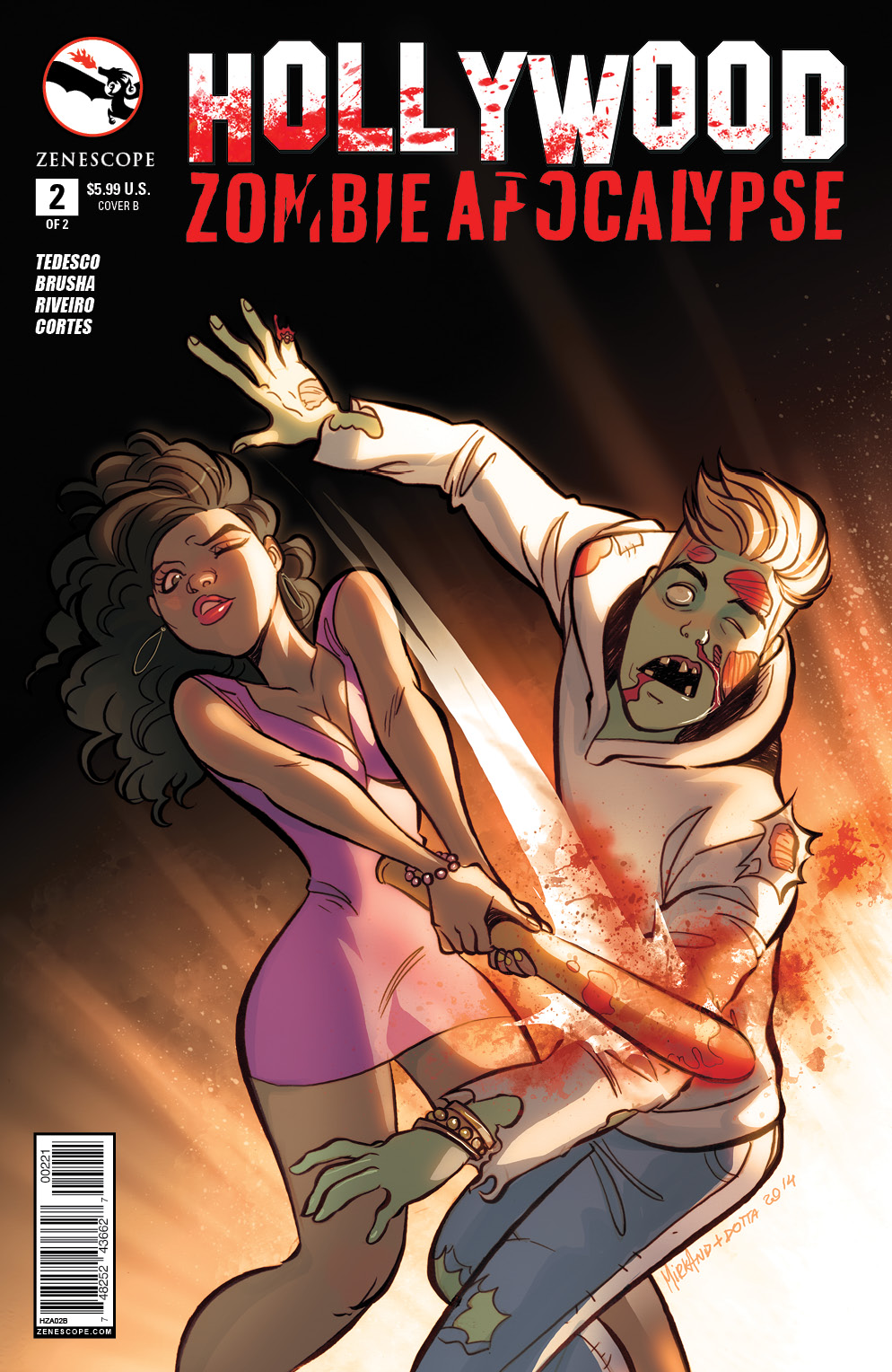 HollywoodZombie_02_cover B