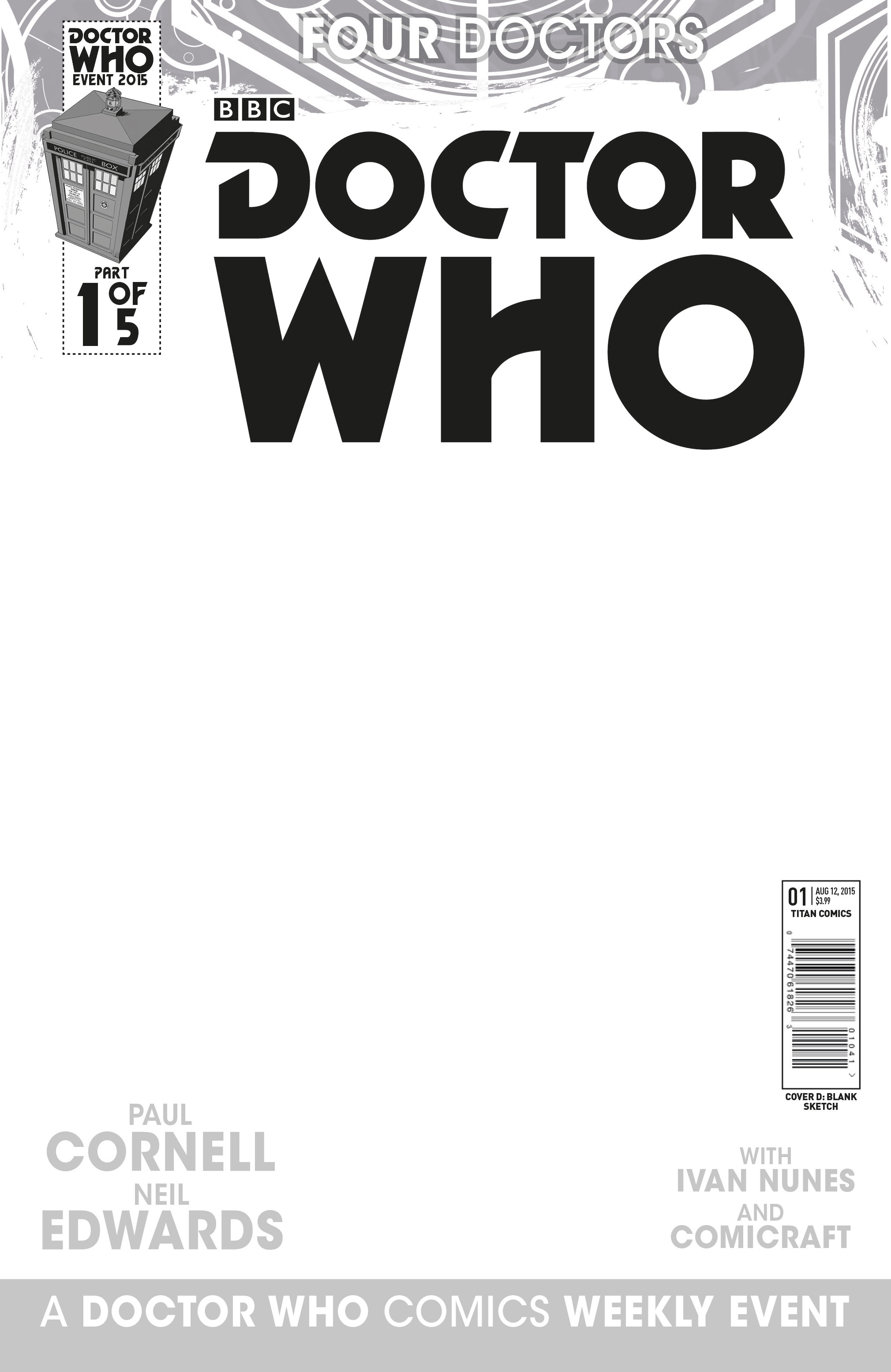BLANK SKETCH VARIANT COVER