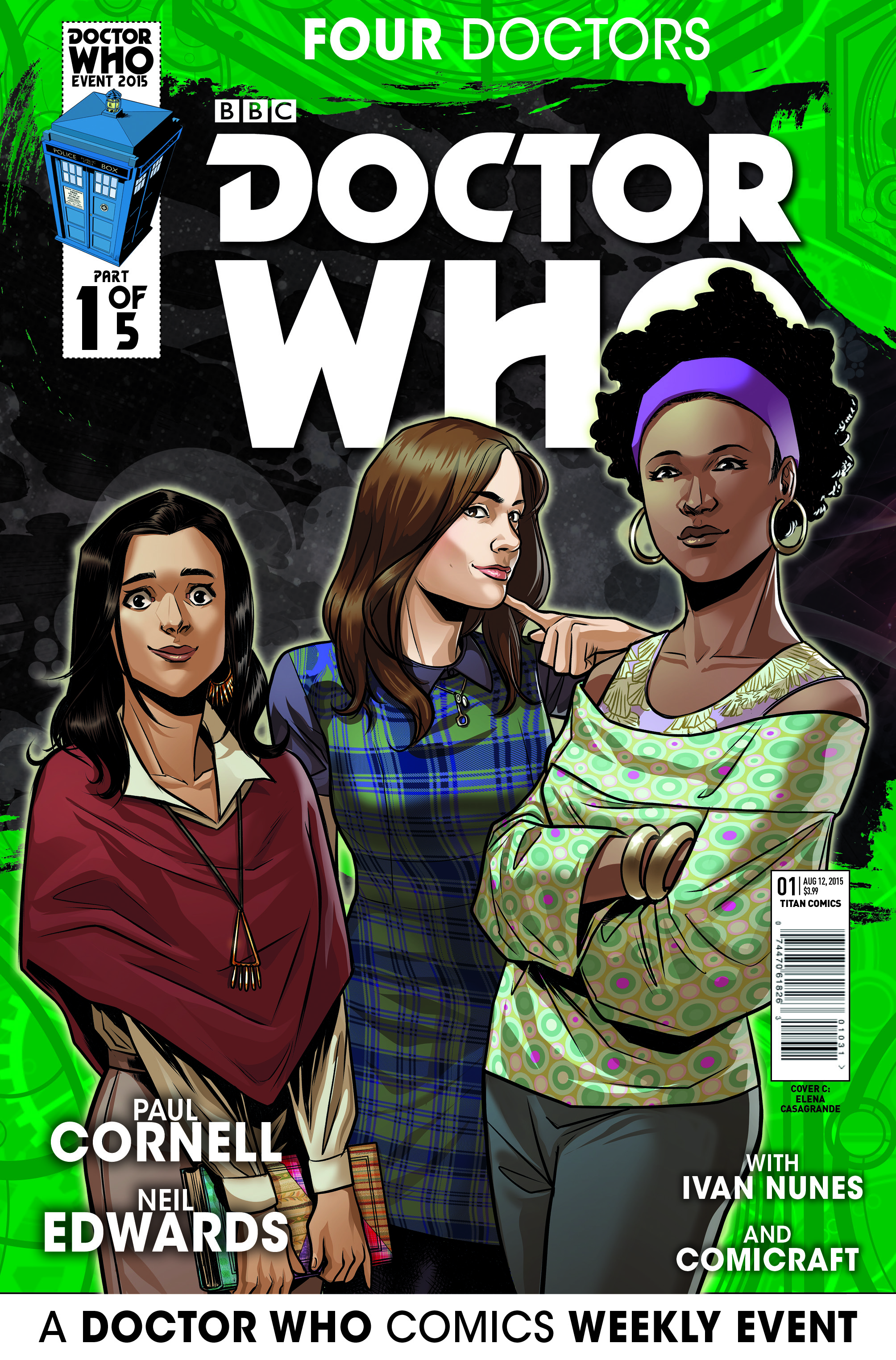 COMPANIONS ART VARIANT COVER BY ELENA CASAGRANDE