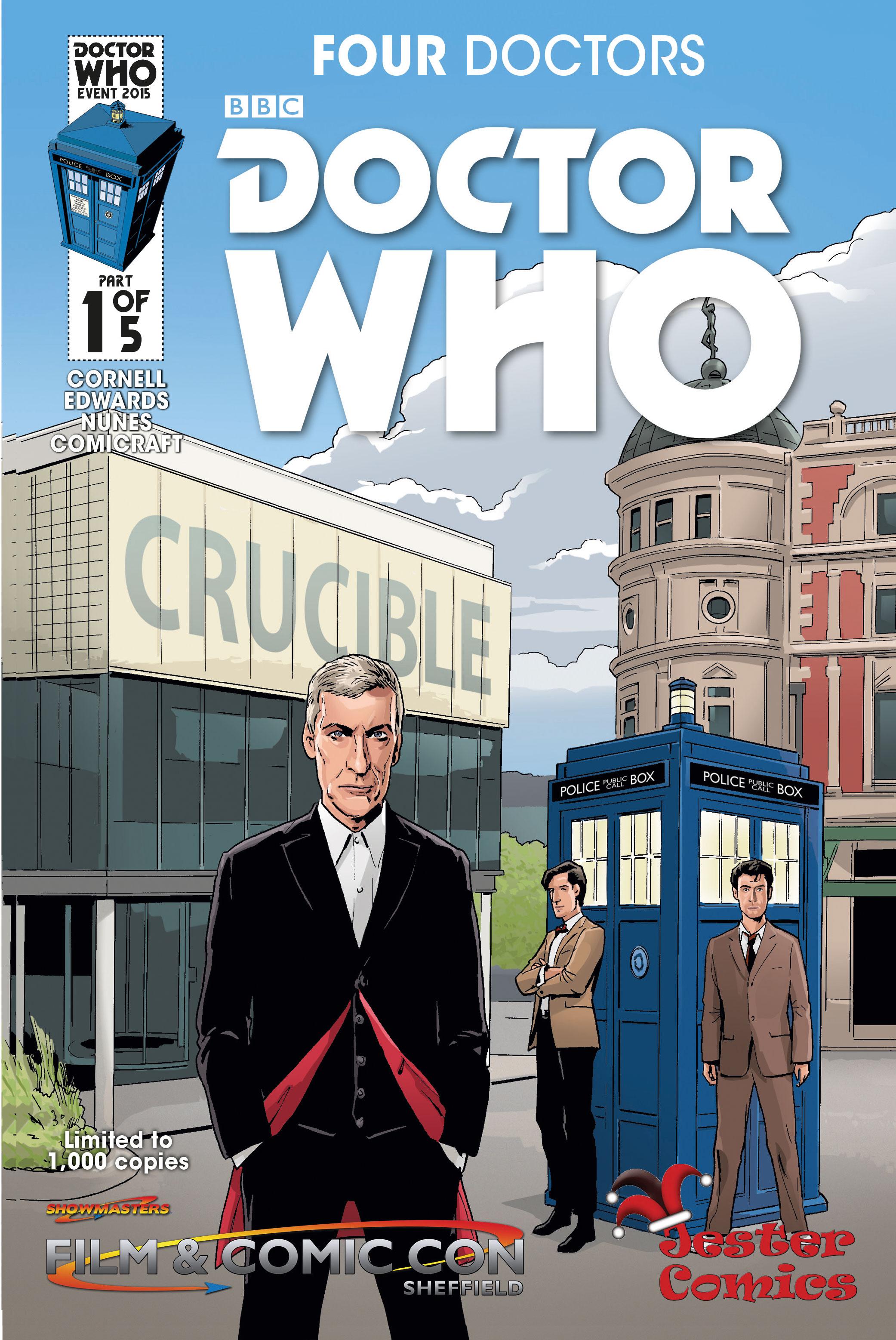 JESTER COMICS VARIANT COVER BY WARREN PLEECE