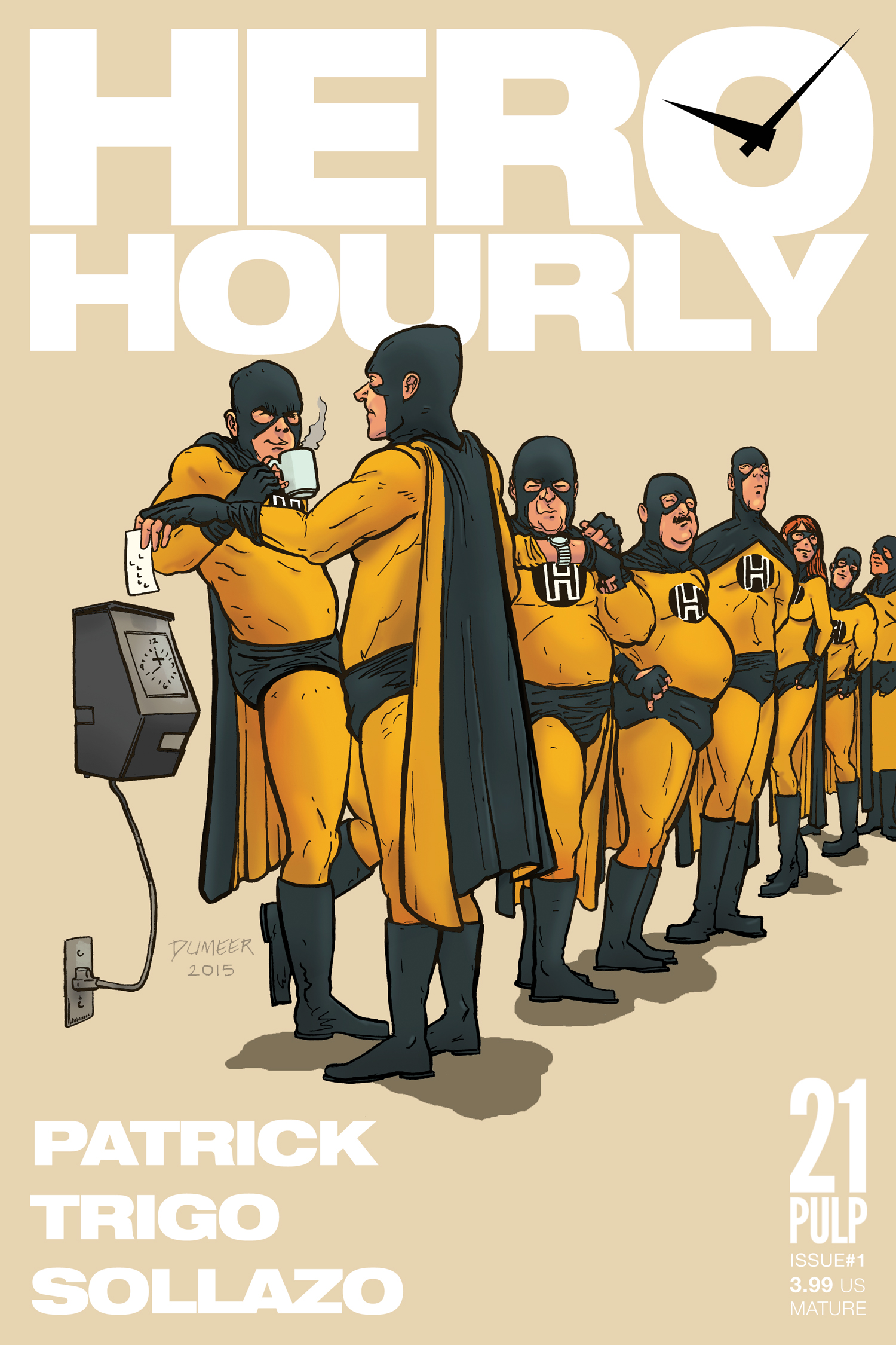 Hero Hourly cover
