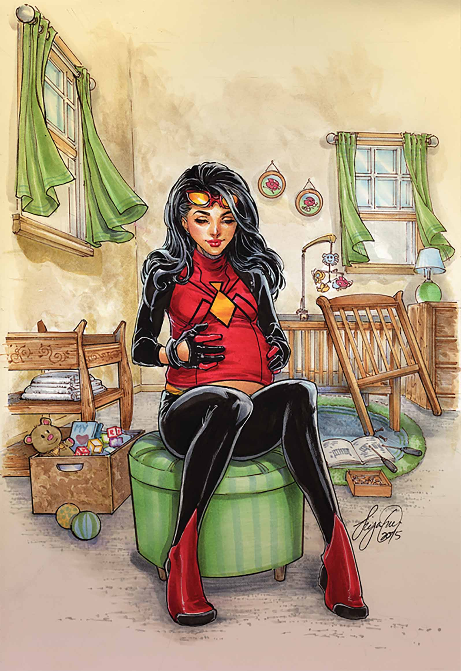 Spider_Woman_1_Oum_Variant