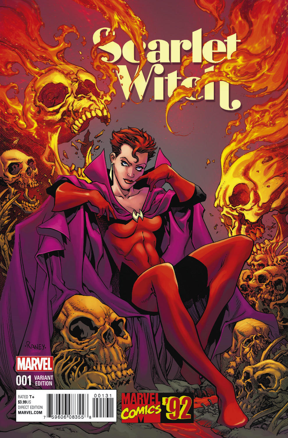 Scarlet_Witch_1_Raney_Marvel_92_Variant