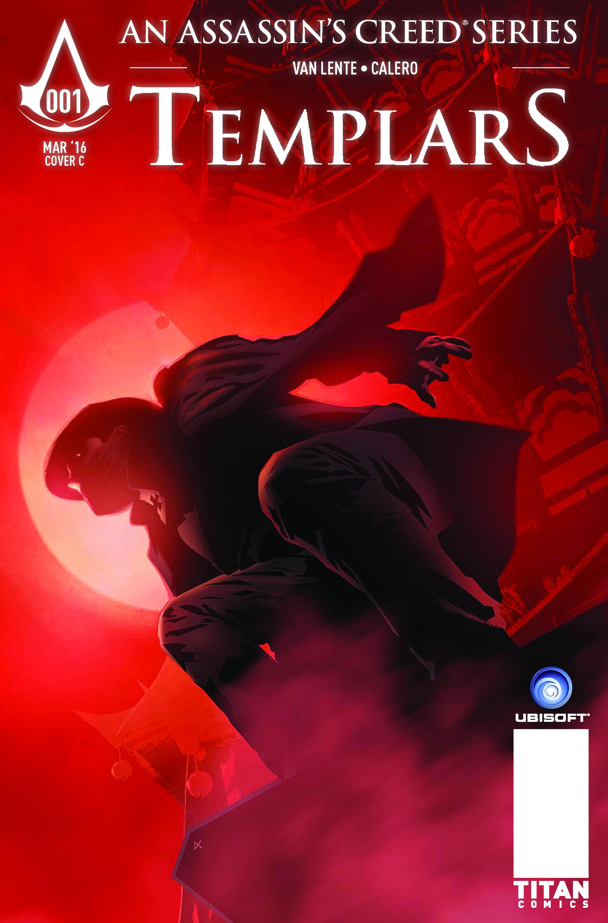TEMPLARS Cover D - Dennis Calero