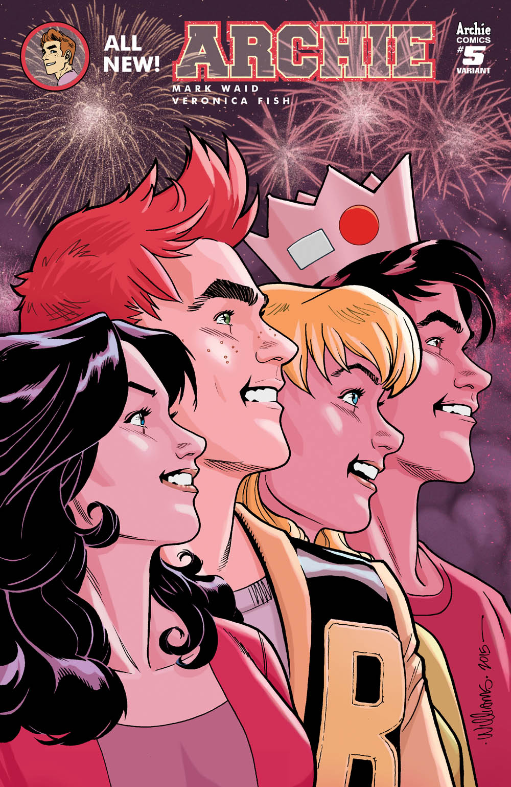 Archie#5WilliamsVar