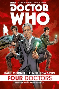 Four Doctors_Cover by Neil Edwards