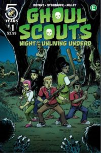 Ghoul Scouts 1 cover