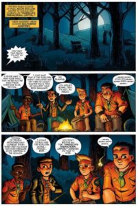 Ghoul Scouts 1 pg1