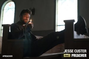 Dominic Cooper as Jesse Custer - Preacher _ Season 1, Episode 1 - Photo Credit: Lewis Jacobs/AMC