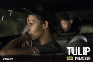 Ruth Negga as Tulip O'Hare - Preacher _ Season 1, Episode 1 - Photo Credit: Lewis Jacobs/Sony Pictures Television/AMC