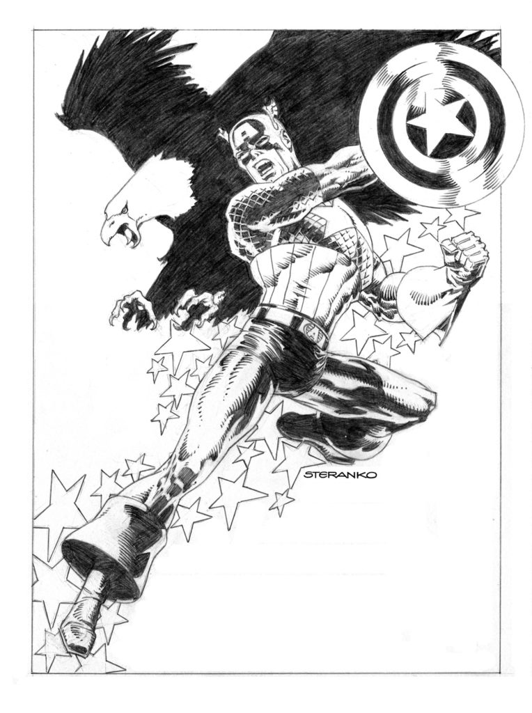 Uncanny_Avengers_11_Steranko_Variant_Black_and_White