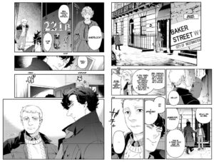 Sherlock Manga Preview