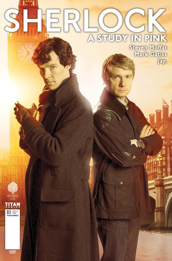 Sherlock_Manga Cover_B