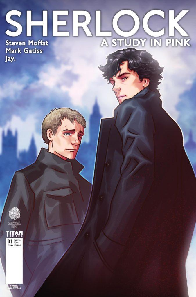 Sherlock_Manga Cover_C