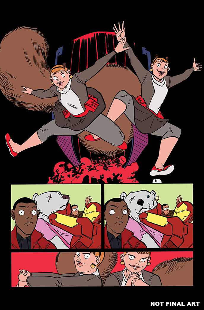 Pullbox Previews The Unbeatable Squirrel Girl Beats Up