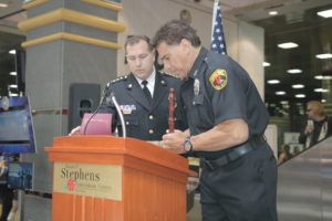 Chief Don Stephens and Lou Ferrigno 2