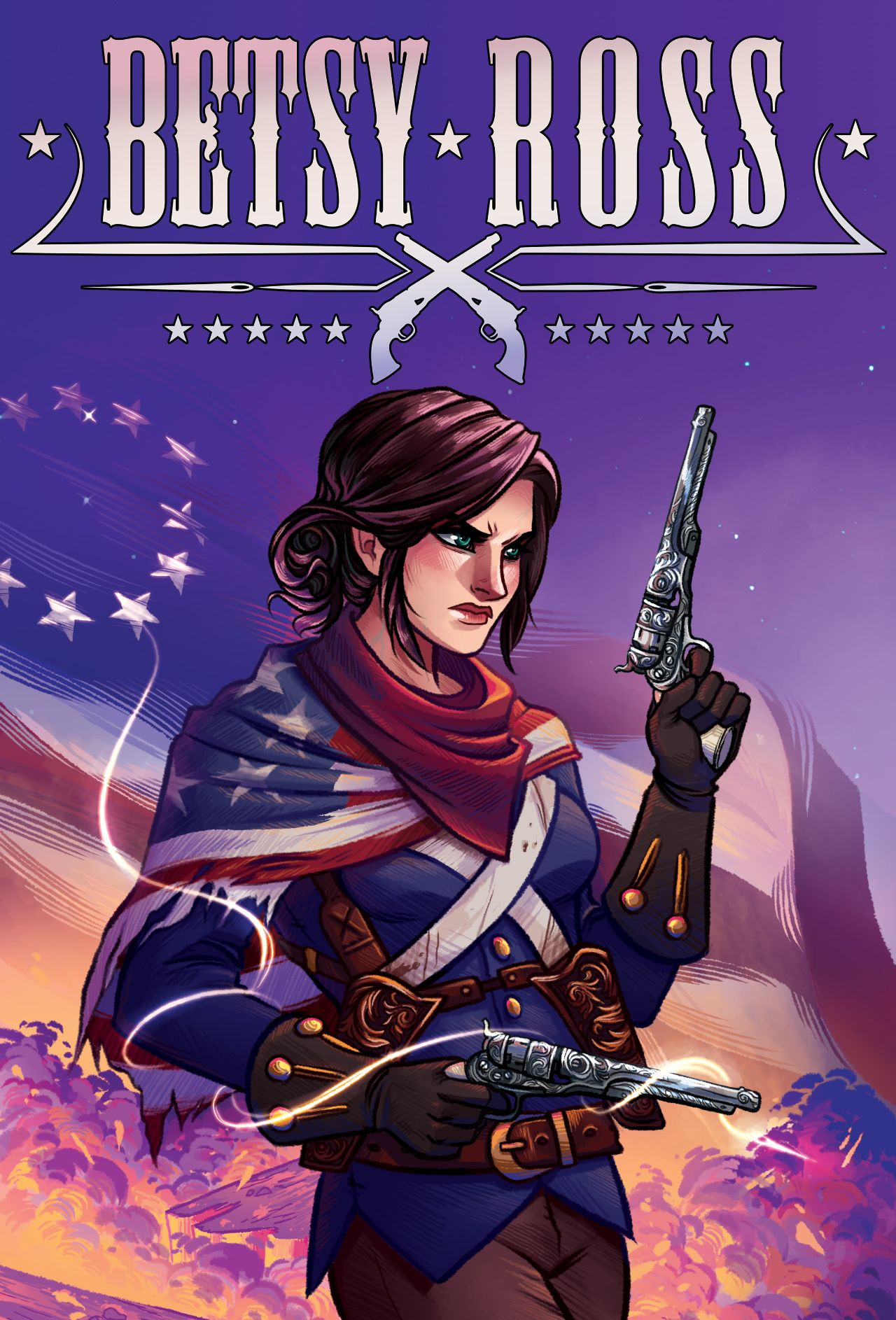 Pullbox Reviews: Betsy Ross #1- Not the person you'll see on the History Channel