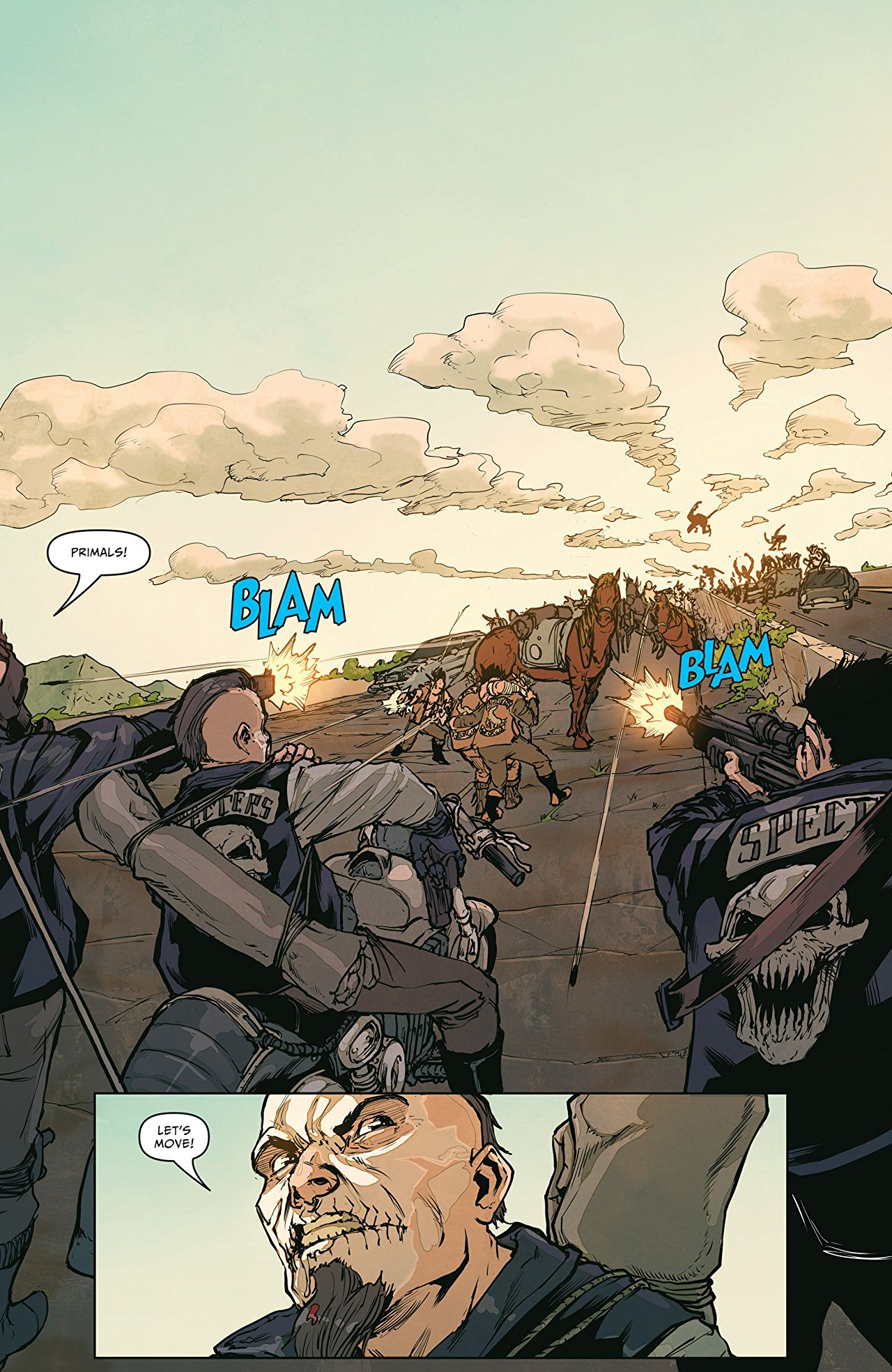 Pullbox Reviews The Courier When Statham Isnt Available - Map of the us hazards comic
