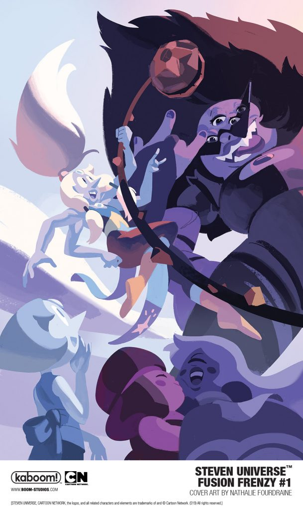 Pullbox Previews: Steven Universe - Fusion Frenzy #1 - The
